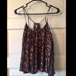Urban outfitters silk strapped tank